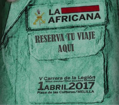 Próximamente la información de LA AFRICANA 2018