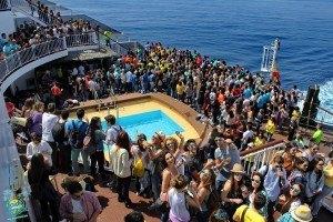 Para Saidia Festival, fletamos un super ferry, y cerramos durante 2 semana el Hotel Be live Saidia 5*