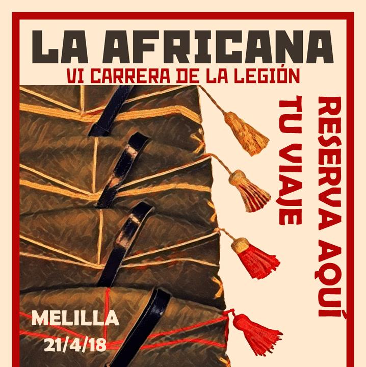 LA CARRERA DE LA LEGIÓN DE MELILLA