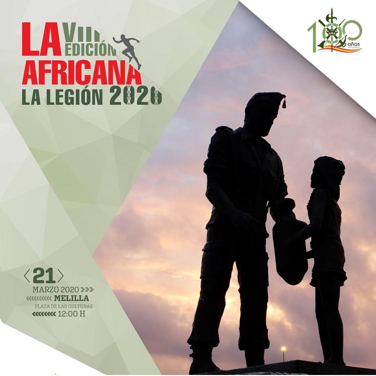 Ya puedes reservar tu viaje para Melilla para participar en LA AFRICANA 2020 - La carrera de la legión de Melilla.
